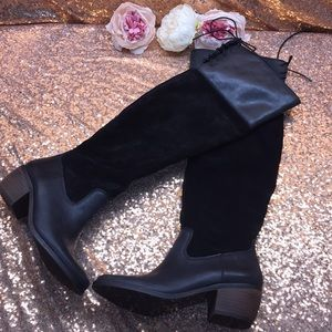 Lucky Brand Over The Knee Boots 7.5M